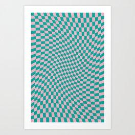 922 // Tropical Twist Art Print