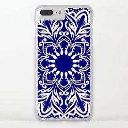Sky Mandala Clear iPhone Case
