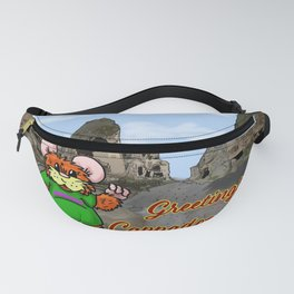 Herbert Hammy's postcard from Turkey (with wording) Fanny Pack