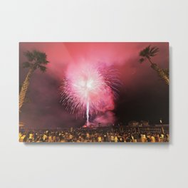 Independence Day 2013  HB Pier  Metal Print