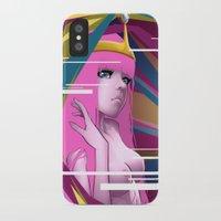 princess bubblegum iPhone & iPod Cases featuring Princess Bubblegum by Kimball Gray