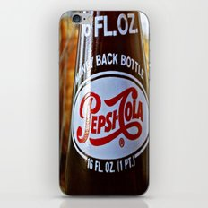 Pepsi nostalgia iPhone & iPod Skin