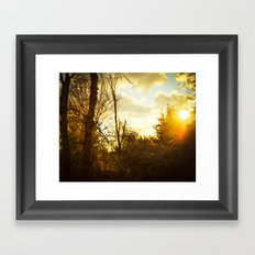 South By Southwest Framed Art Print