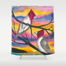 Brazilian Cardinal  Shower Curtain