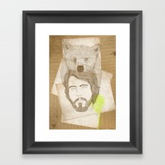 mr.bear-d Framed Art Print