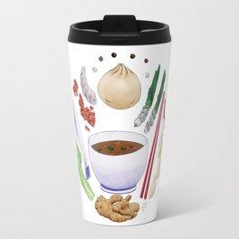 Dumpling Diagram Travel Mug