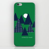 camping iPhone & iPod Skins featuring Camping by pegeo