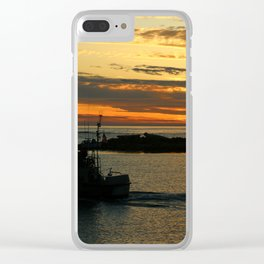 The End Of A Beautiful Day Clear iPhone Case