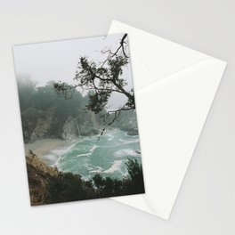 Foggy Day in Big Sur Stationery Cards