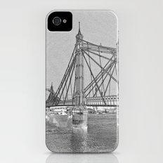 Albert Bridge London Digital Art Slim Case iPhone (4, 4s)