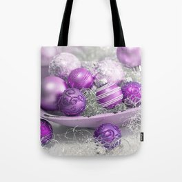 Fancy pink christmas Tote Bag