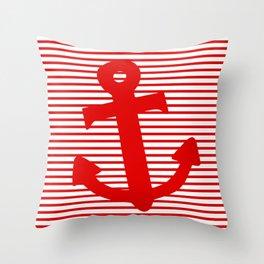 Boat Anchor Throw Pillow