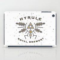 hyrule iPad Cases featuring Hyrule Royal Brewery by Tugrul Peker
