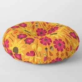 Fall is in th Air Floor Pillow