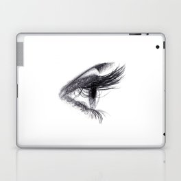 Eye handmade Drawing, Made in pencil and charcoal, Realistic Drawing Laptop & iPad Skin