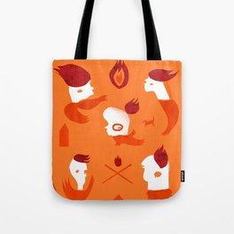Firebirds Tote Bag