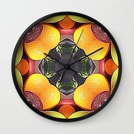 Fruit of Abundance Wall Clock