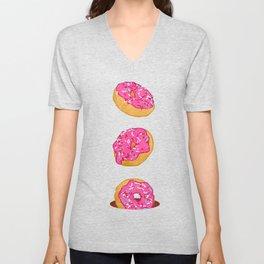 Doughnuts Unisex V-Neck