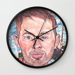 Thom Yorke Radiohead Hail to The Theif Wall Clock