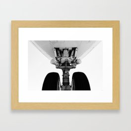 747 Nose Framed Art Print