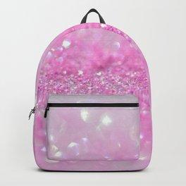 Sparkling Baby Girl Pink Glitter Effect Backpack