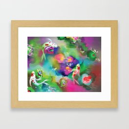 Wondering Kois Framed Art Print