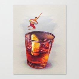 Summer Club Canvas Print