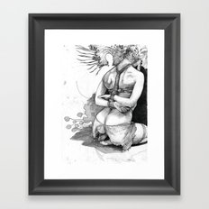 Bound in Detail Framed Art Print