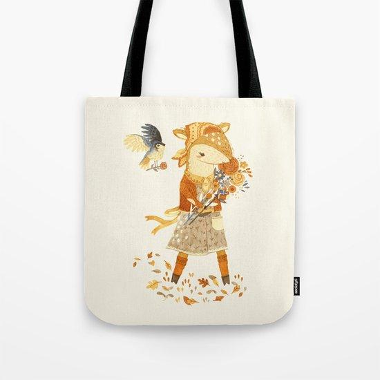 Dakota the Daisy Deer Tote Bag