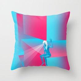 Goddess Gaze - G Zine for Society6 Throw Pillow