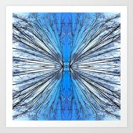 174 - Tree abstract design Art Print