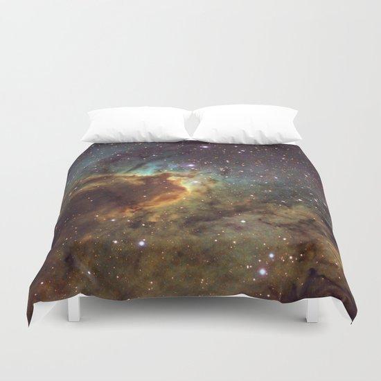 Cave Nebula SH2-155 Duvet Cover