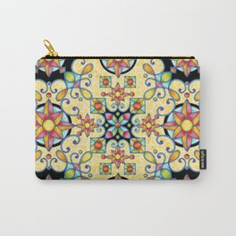 Rococo Starburst Carry-All Pouch