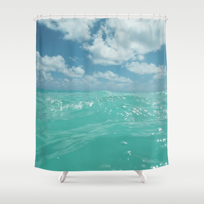 Hawaii Water Shower Curtain by bethanyyoung | Society6