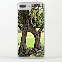 Dance of the Olive Tree Clear iPhone Case