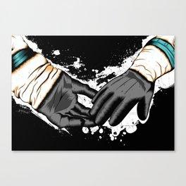 Together Let Us Walk Amongst The Stars Canvas Print