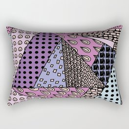 simple purple doodles . picture   https://society6.com/simpledoodles/collection Rectangular Pillow