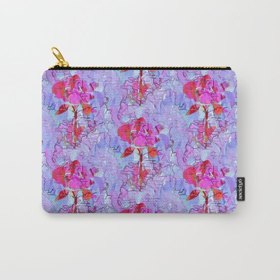 Regal Rose Carry-All Pouch