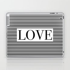 Monochromatic Love Laptop & iPad Skin