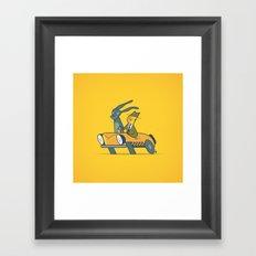 Who framed Donnie Darko? Framed Art Print