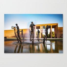 Orpheus Fountain Canvas Print