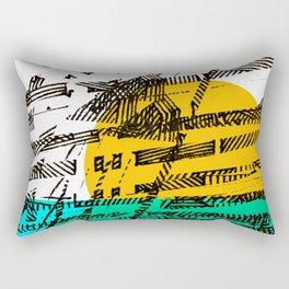 - the sunset - Rectangular Pillow