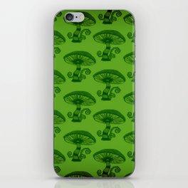 """Mushrooms in the Garden"" Alice in Wonderland Style Design by Dark Decors iPhone Skin"