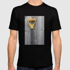 Yellow Handle Mens Fitted Tee Black MEDIUM