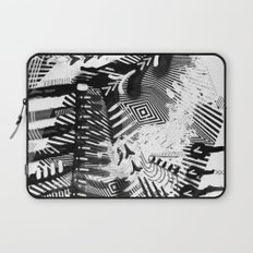 GRAY AND BLACK Laptop Sleeve