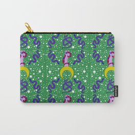 Snakes Jungle Green Carry-All Pouch