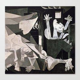 GUERNICA #2 - PABLO PICASSO Canvas Print