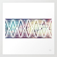 diamonds Art Prints featuring Diamonds by Last Call