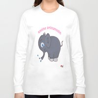 german Long Sleeve T-shirts featuring Ellie (German) by Mishell