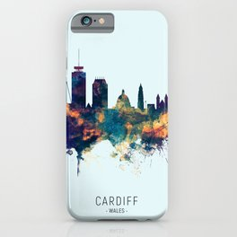 Cardiff Wales Skyline iPhone Case